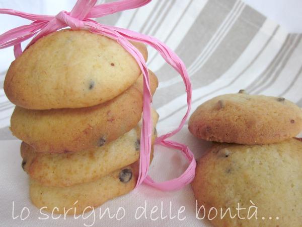 biscotti banana e cioccolato 3