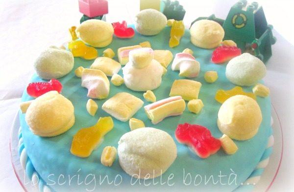 TORTA DI COMPLEANNO… e caramelle!