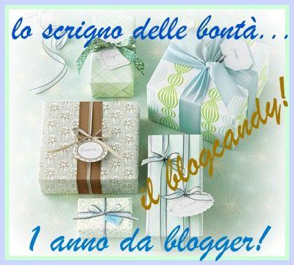 IL PRIMO ANNO DELLO SCRIGNO…festeggiamolo insieme con un blogcandy!