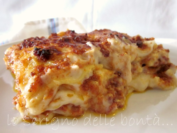 lasagne alla bolognese 330 g di lasagne alla bolognese le lasagne ...