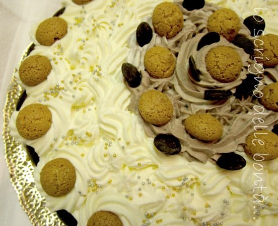TORTA CON AMARETTI E CIOCCOLATO….. o amaretti cake!