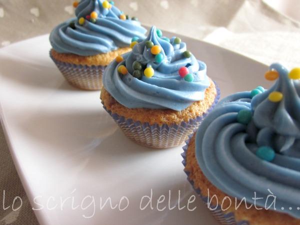 cupcake al cioccolato bianco 3
