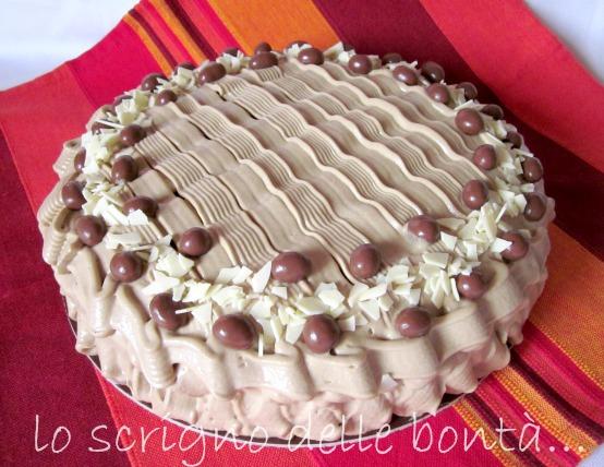 torta al caffè e cioccolato 1