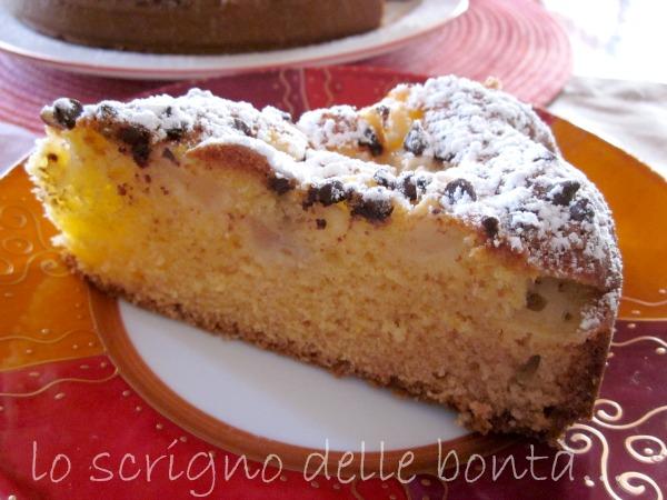 torta pere e cioccolato 1