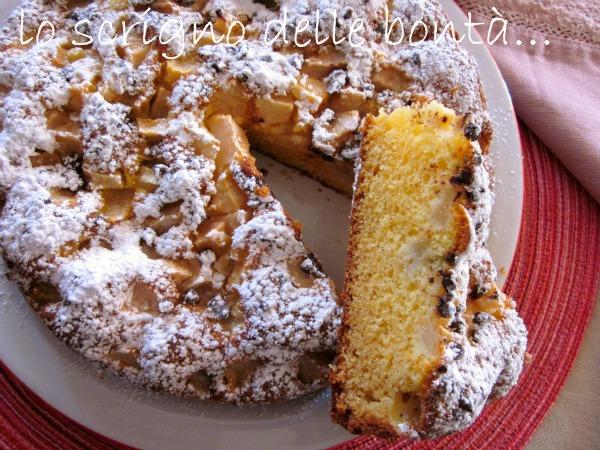 torta pere e cioccolato 2