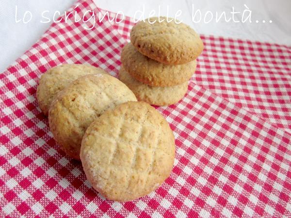 biscotti integrali al miele 2