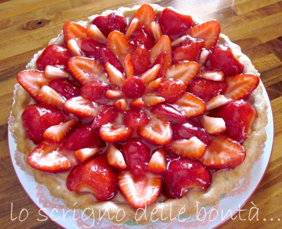 crostata di fragole fresche 1
