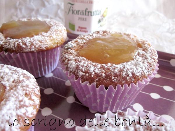 muffin pere e cioccolato 1