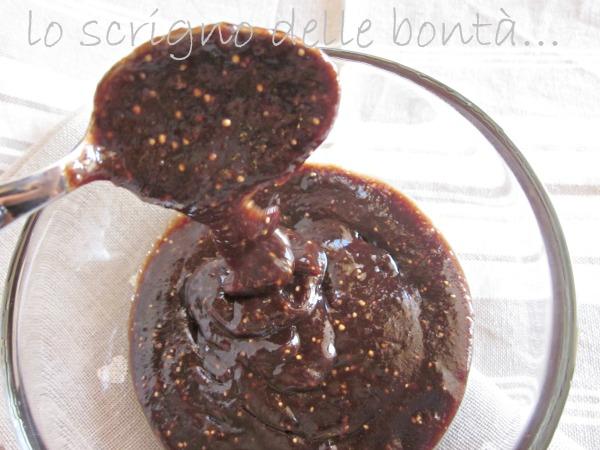 marmellata di fichi al cacao 2
