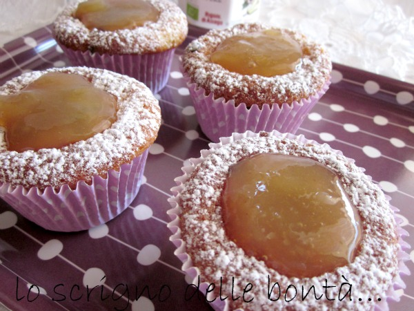 muffin pere e cioccolato 2