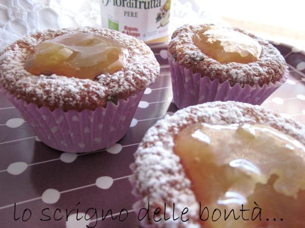 muffin pere e cioccolato 3