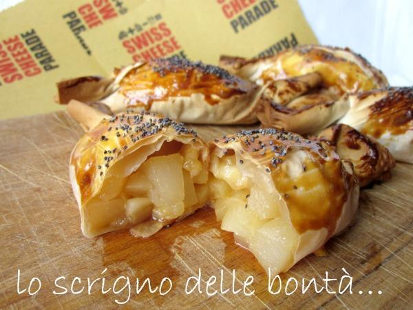 fagottini formaggio e pere 2