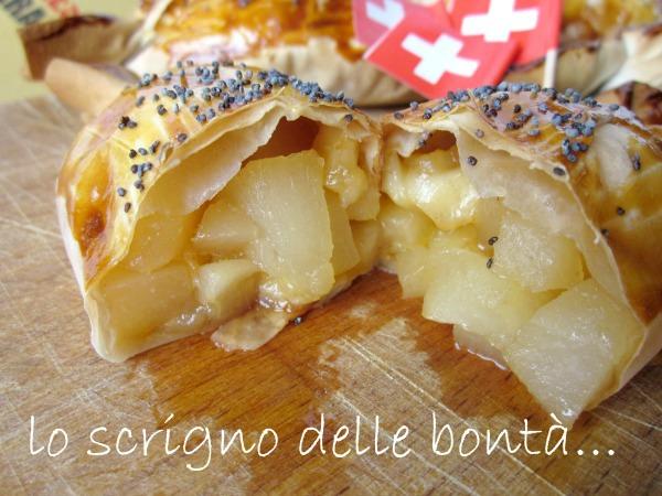 fagottini pere e formaggio 1