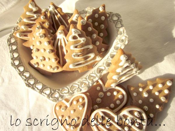 biscotti di natale al miele 3