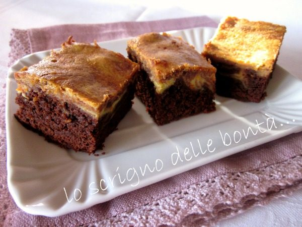 BROWNIES CIOCCOLATO E ARANCIO