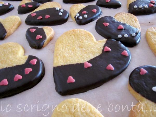 biscotti arancio e cioccolato 1
