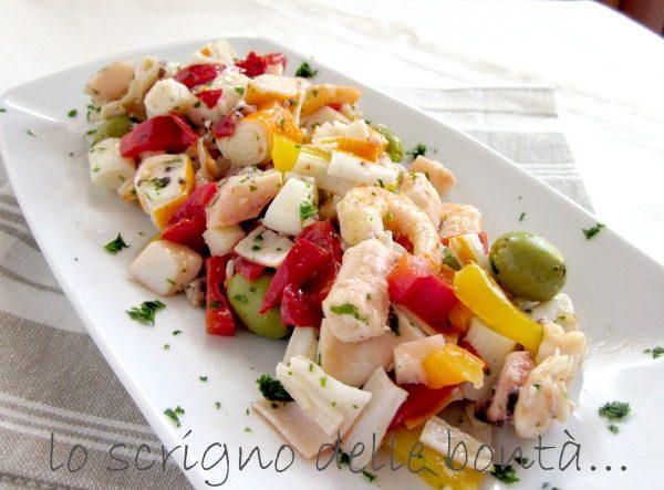 INSALATA DI MARE o insalata di pesce