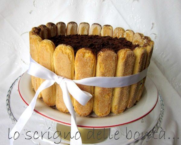 TORTA TIRAMISU'  ovvero tiramisù sponge cake