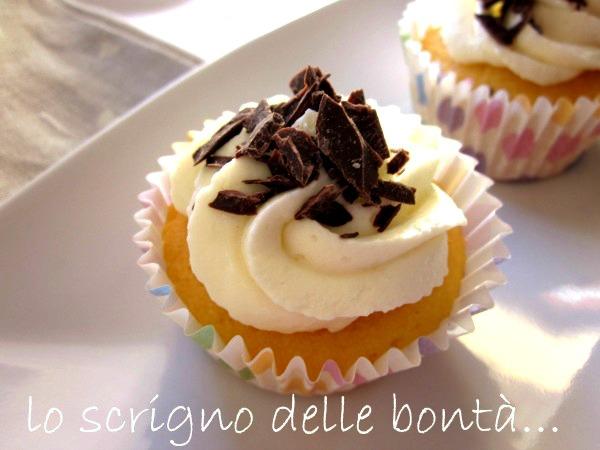 cupcake al limone e cioccolato 1