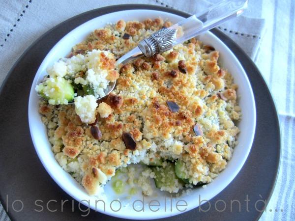 zucchine agli aromi con crumble al parmigiano 3