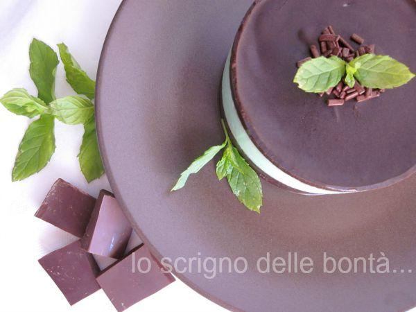 cheesecake menta e cioccolato 2