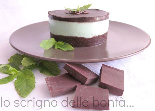 cheesecake menta e cioccolato 3