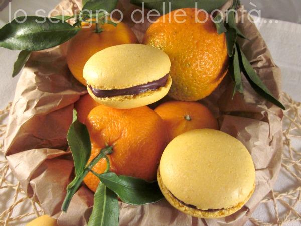 macaron clementine e cioccolato 3