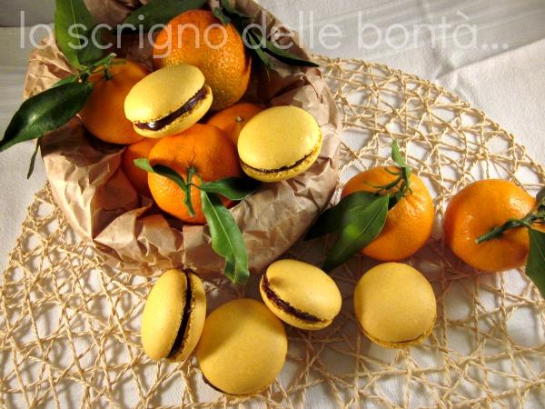 macaron clementine e cioccolato 4