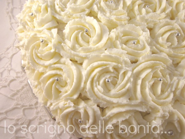 torta nozze d'argento 2
