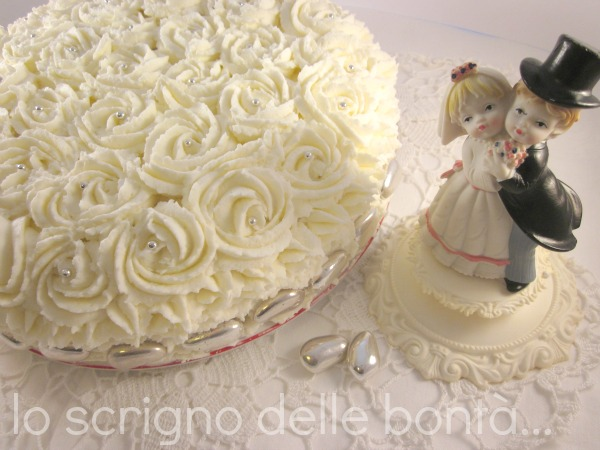 torta nozze d'argento 3