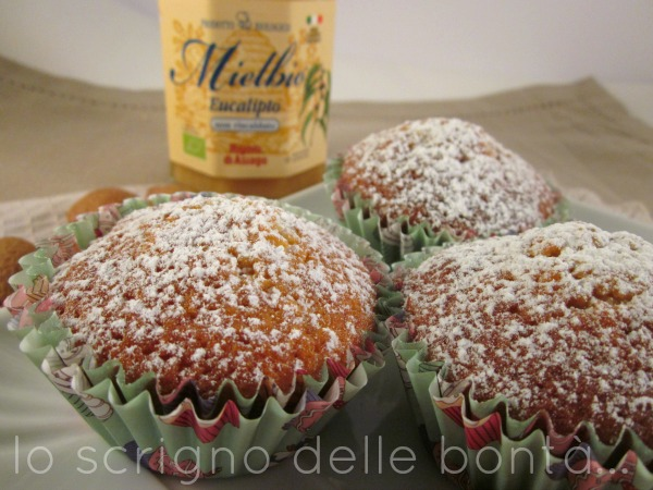 muffin mandorle e miele 1