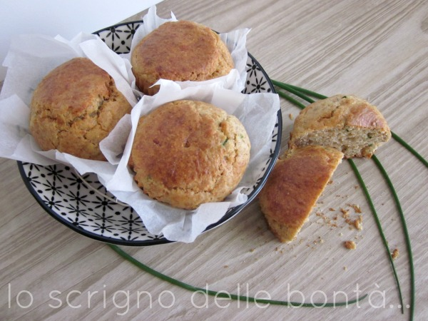 muffin salati erba cipollina 2