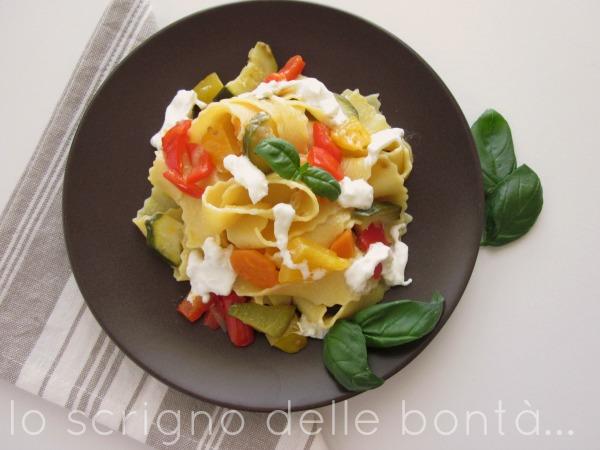 pasta con le verdure 2