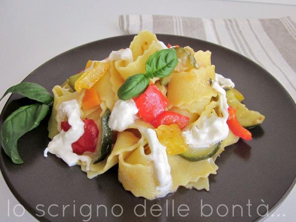 pasta con verdure 1
