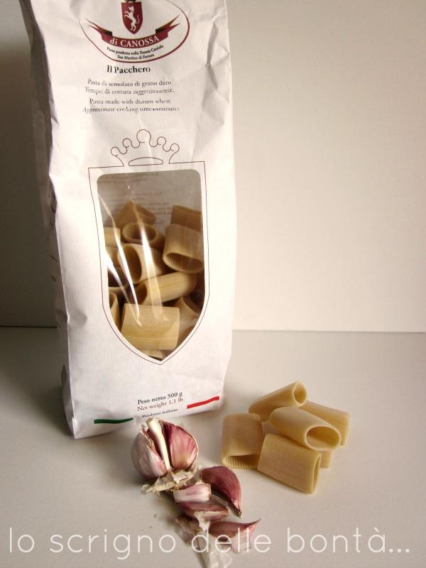 pasta di canossa paccheri
