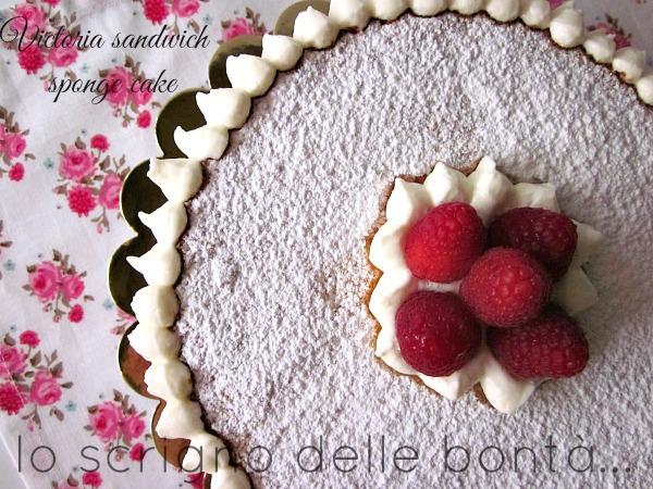 victoria sandwich sponge cake 2