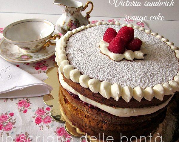 VICTORIA SANDWICH SPONGE CAKE