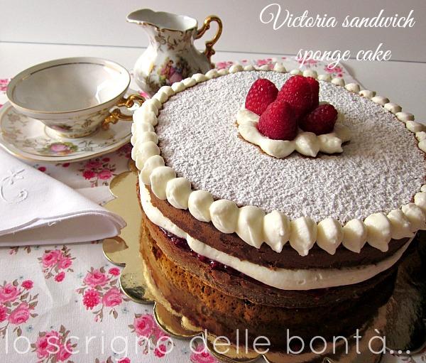 victoria sandwich sponge cake 3