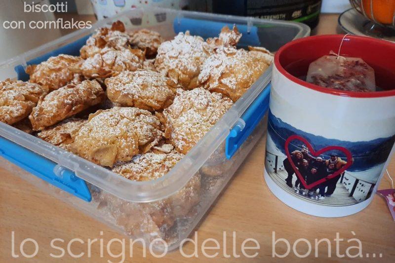 BISCOTTI ROSE DEL DESERTO o biscotti con i cornflakes